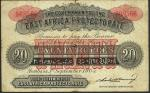 1905东非保护区20卢比 优美