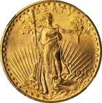1911-S圣高登双鹰金币 NGC MS 64