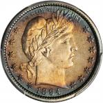 1894 Barber Quarter. Proof-66 (PCGS). CAC.