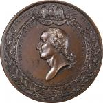1853 New York Crystal Palace medal by Alexander C. Morin and Anthony Paquet. Musante GW-191, Baker-3