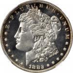 1882 Morgan Silver Dollar. Proof-67 Cameo (NGC).