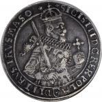 POLAND. Taler, 1630-II. Bromberg Mint. Sigismund III Vasa. NGC EF-40.