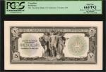 CANADA. Canadian Bank of Commerce. 5 Dollars, 1917. P-Unlisted. Face Proof. PCGS Currency Gem New 66