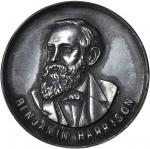 1892 Benjamin Harrison. BH 1892-6. Silver. 31.6 mm. About Uncirculated.