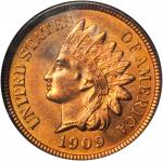 1909 Indian Cent. MS-65 RB (NGC).