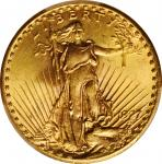 1927 Saint-Gaudens Double Eagle. MS-64 (PCGS).