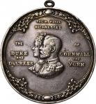 1901 Calgary Assembly Medal. Silver. Jamieson Fig. 39. Choice Very Fine.
