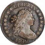 1796 Draped Bust Dime. JR-4. Rarity-4. VF-30 (PCGS).