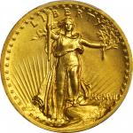 MCMVII (1907) Saint-Gaudens Double Eagle. High Relief. Wire Rim. MS-63 (PCGS). CAC.