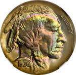 1936 Buffalo Nickel. Brilliant Proof-68 (NGC). CAC.