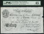 Bank of England, Kenneth Oswald Peppiatt (1934-1949), 」20, Liverpool 30 June 1934, serial number 54/