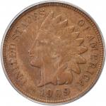 1909-S Indian Cent. VF-25 (PCGS).