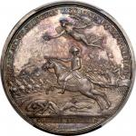1781 (1845-1860) Lieutenant Colonel William Washington at Cowpens Medal. Paris Mint Restrike. Silver