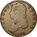 1838 Contemporary Counterfeit Capped Bust Half Dollar. Good, Surface Damage.