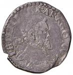 Italian coins;NAPOLI Filippo II (1554-1598) Tarì (periodo di coniazione: 1568-1571) - Magliocca 47/1
