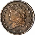 1835 Classic Head Half Cent. VF-30 (PCGS).