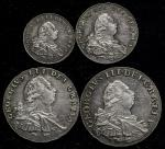 GREAT BRITAIN George III ジョージ3世(1760~1820) Maundy Set 1800 返品不可 要下见 Sold as is No returns VF~EF