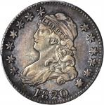 1820 Capped Bust Quarter. B-3. Rarity-3. Medium 0. EF-40 (PCGS).