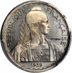 1939年法属印度支那20分试作样币。