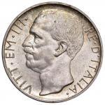 1934年伊曼纽尔三世10里拉 近未流通 Emanuele III 10 Lire