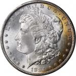 1884-CC Morgan Silver Dollar. MS-66+ (PCGS).