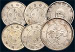 银币一组六枚