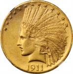 1911-D Indian Eagle. MS-61 (NGC).
