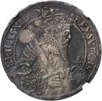 SWEDEN. 1/2 Riksdaler, 1561. Erik XIV (1560-68). NGC AU Details--Surface Hairlines.