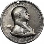 1837 Martin Van Buren Indian Peace Medal. Large Size. Silver. 76 mm. 2083.9 grains.  Julian IP-17. V
