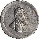 1779 Henry Lee at Paulus Hook medal. Betts-575, Julian MI-5. Pewter. Original dies. Philadelphia Min