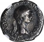 CLAUDIUS, A.D. 41-54. AR Denarius (3.35 gms), Rome Mint, ca. A.D. 50-54.