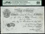 Bank of England, Kenneth Oswald Peppiatt (1934-1949), 50, Manchester, 30 August 1934, serial number