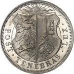 SUISSE Genève (canton de). 5 francs 1848.
