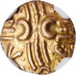 CELTIC BRITAIN. Trinovantes & Catuvellauni.Tasciovanus.ca. 20 B.C.- A.D. 10. AV 1/4 Stater (1.35 g