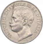 "Savoy Coins;""Vittorio Emanuele III (1900-1946) 5 Lire 1911 - Nomisma 1129; Pag. 707 AG R Minimi colp"