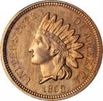 1858 Pattern Indian Cent. Judd-212, Pollock-263, Snow-PT25, Snow Die Pair 1. Rarity-4. Copper-Nickel