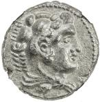 MACEDONIAN KINGDOM: Alexander III, the Great, 336-323 BC, AR tetradrachm, ND, S-6724var, Heracles //