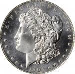 1904-O Morgan Silver Dollar. MS-66+ PL (PCGS).