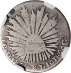 MEXICO. Real, 1824-Do RL. Durango Mint. NGC VG Details--Graffiti.