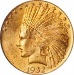1932 Indian Eagle. MS-63 (PCGS). CAC. OGH.