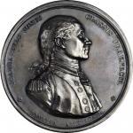 1779 (ca. 1860-1879) John Paul Jones medal. Betts-568. Silver. Original dies, restrike. Paris Mint.