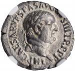 VESPASIAN, A.D. 69-79. AR Denarius (2.41 gms), Ephesus Mint, A.D. 74. NGC AU, Strike: 5/5 Surface: 2