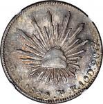 MEXICO. 4 Reales, 1860-Go PF. Guanajuato Mint. NGC MS-62.