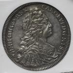 HOUSE OF HABSBURG Karl VI カール6世(1711~40) Taler 1733 NGC-AU50 VF~EF