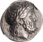 MACEDON. Kingdom of Macedon. Philip II, 359-336 B.C. AR Tetradrachm (14.46 gms), Pella Mint, ca. 342