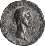 NERVA, A.D. 96-98. AE Sestertius (21.24 gms), Rome Mint, A.D. 96. NGC Ch VF, Strike: 5/5 Surface: 2/