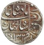 Lot 2405 MUGHAL: Shah Jahan I, 1628-1658, AR rupee 4011.21g41, Katak, AH1069 year 32, KM-235.15, VF.