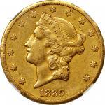 1885-CC Liberty Head Double Eagle. EF-40 (NGC).