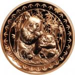 2017年北京国际钱币博览会纪念铜章 NGC PF 69 CHINA. Copper Medal, 2017
