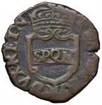Italian coins;NAPOLI Repubblica Napoletana (1647-1648) Pubblica 1648 - Magliocca 3 CU (g 7.24) R  -